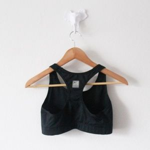 Nike Intimates & Sleepwear - NIKE Dri-Fit Strb Ngth Racerback Bra Black Pink